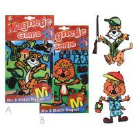 Mágneses kirakós játék - Tiger and Lion