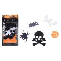 Halloween díszek 1-2 cm vegyes 5 motív