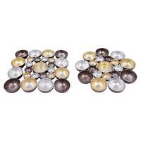 Svietnik kovový - farebný 16x16 cm, mix/1ks