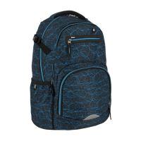 Študentský batoh STINGER 08, tmavo modrý