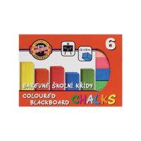 Iskola kréta KOH-I-NOOR szín, 6 db készlet