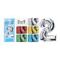 0-9  Szám Formájú születésnapi lufi, vegyes színek, 1db