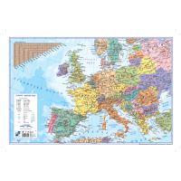Könyökalátét 60x40 cm, Európatérkép