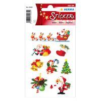 Karácsonyi mágikus címkék - karácsonyi Mikulás
