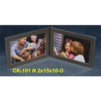 Fotorámček 10x15 cm 2x, CK-101 G