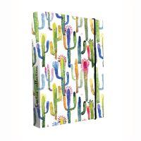Füzetbox A4 Jumbo Kaktus