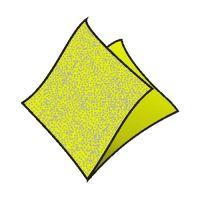 Obrúsky 1-vrstvé 33 x 33 cm žltozelené 100 ks