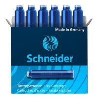 Tintapatron Schneider, 6 db/ kék