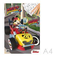 A4-es Mickey színezőkönyv és versenyző
