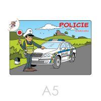 Kifestő A5 Rendőrség