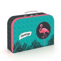 Kufrík Lamino 34 cm Flamingo