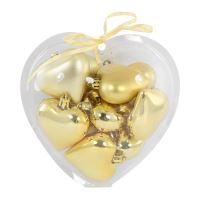 Karácsonyi dísz - PP arany s