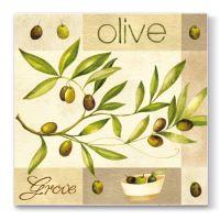 Szalvéta PAW L 33x33 cm Olive Garden