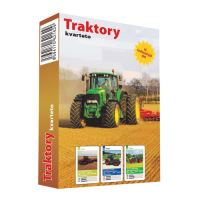 Karty hracie - Kvarteto - Traktory