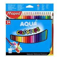 """Színes ceruzák - akvarell MAPED """"COLOR`PEPS"""", 24 db + ecset"""