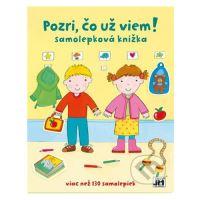 Samolepková knižka - Pozri, čo už viem! + samolepky