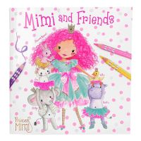 Omaľovánka Princess Mimi
