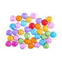 Dekoráció  szívgyöngyök mix szín 15 g