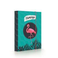 Box na zošity A5 Flamingo