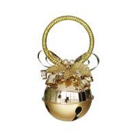 Luggó karácsonyi dekoráció - arany 10 cm, 1db