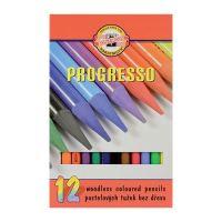 Színes ceruzák KOH-I-NOOR Progresso, 12 darab készlet