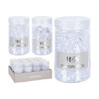 Dekoračné akrylové kamienky 100g, mix/1ks