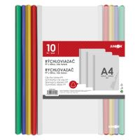 Iratlefűző  PP/A4, készlet 10 db-os mix szín