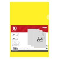 Irattasak PP/A4, sárga - készlet 10 db