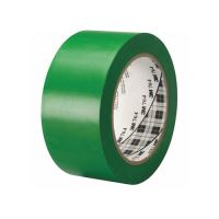 Ipari jelzőszalag, 50 mm x 33 m, 3M, zöld