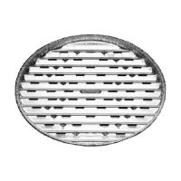 Tácka Alu na gril okrúhla ALU 34 cm 3 ks