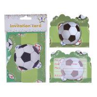 Gyermek partimeghívó - Football, 8 db készlet