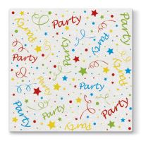 Obrúsky PAW AIRLAID L 40x40cm Party Confetti