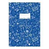 Fedél a notebook Schooldoo A5 sötétkék / 1db