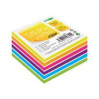 Öntapadós jegyze Sticky Notes - Neon/White 76x76 mm/400 l.