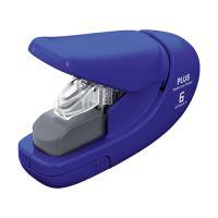 Tűzőgép PLUS Paper Clinch mini 106AB (6 lapot tűz), kék