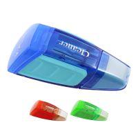 Hegyező műanyag tartályos + Radír  X09-3 Cleaner