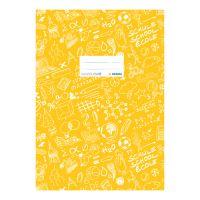 Fedél a notebook Schooldoo A5 sárga / 1db