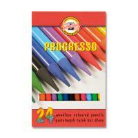 Színes ceruzák KOH-I-NOOR Progresso, 24 db készlet