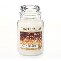 Gyertya Yankee Candle - All Is Bright, nagy