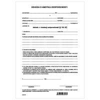 Dohoda o hmotnej zodpovednosti A4