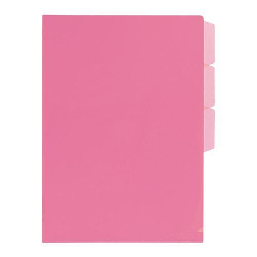 Irattasak + 3 x L rendező  FL101CH rózsaszín