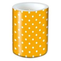 Sviečka Lampión Dots Orange