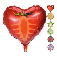 Balon felíratos  többféle gyümölcsök vegyes/1db