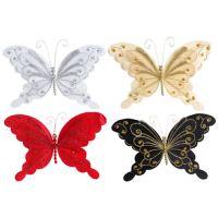 Pillangó csatos 20 cm - vegyes színek, 1db