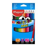 "Színes ceruzák - vastag  MAPED ""COLOR`PEPS MAXI"", 12 db"