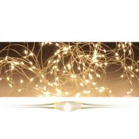 40 LED fényfüzér - meleg fehér, 205 cm