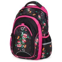 Študentský batoh OXY FASHION Romantic Nature