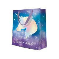 Ajándék tasak PAW Reflex Unicorn, 20x25x10 cm