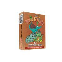 Karty hracie - 2v1 Čierny Peter a Pexeso - Dinosaury