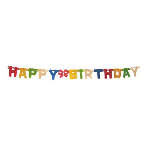 Girland Happy birthday 1,5 m